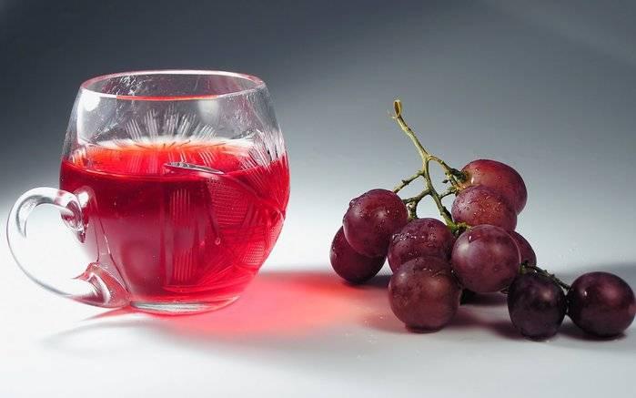 Фото виноградного сока