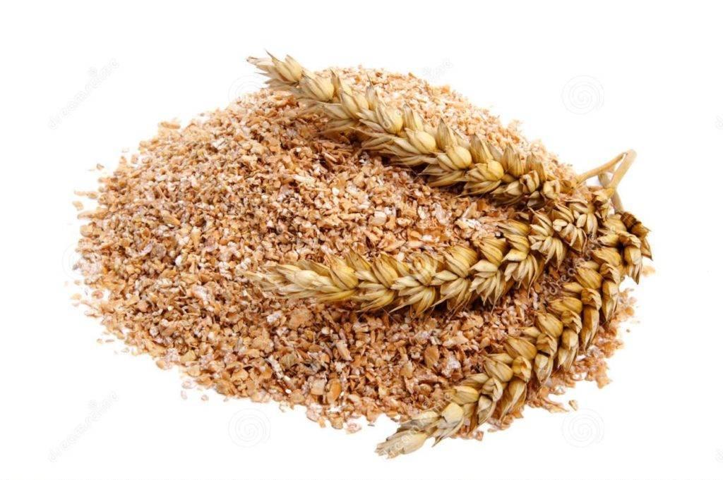 Пшеничные отруби фото