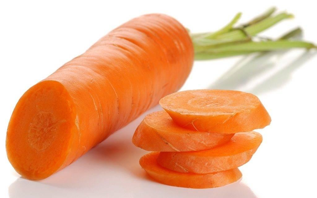 Срез моркови