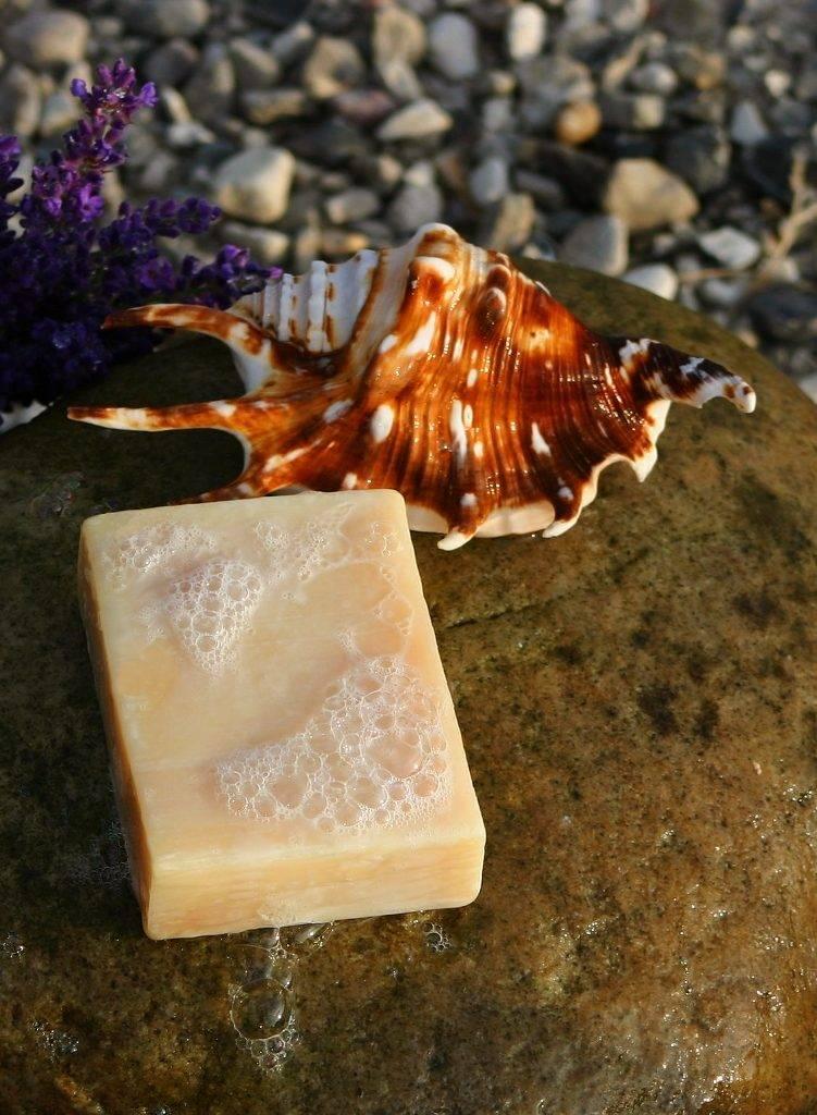 Мыло с добавкой экстракта из жгучей крапивы