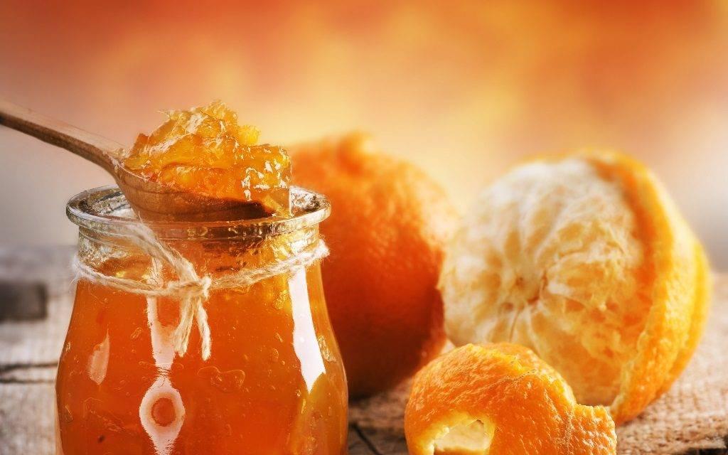 Десерт с мандаринами фото