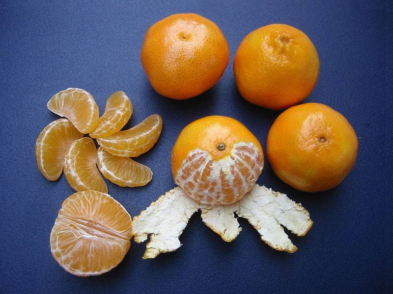 Клементин фото (лат. Citrus clementina)