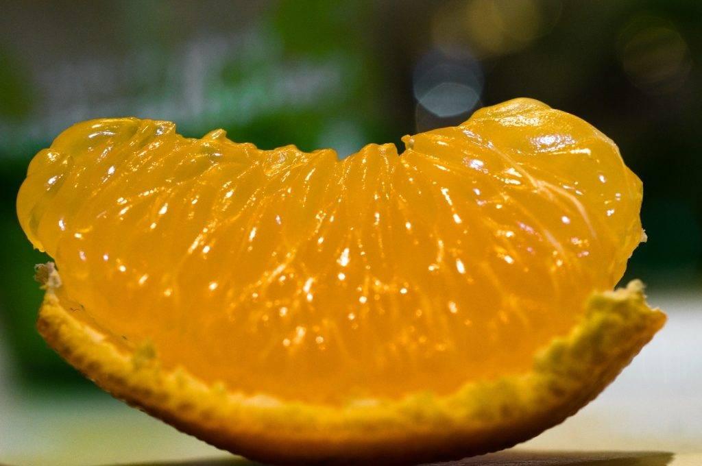 Мякоть мандарина фото