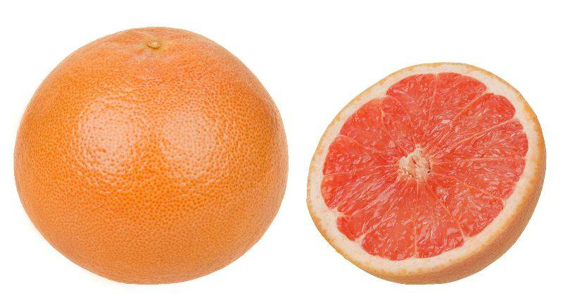 Грейпфрут фото (лат. Citrus paradisi)
