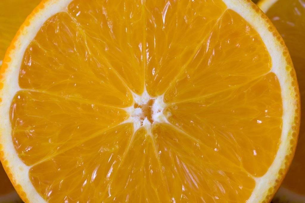 Мякоть апельсина фото