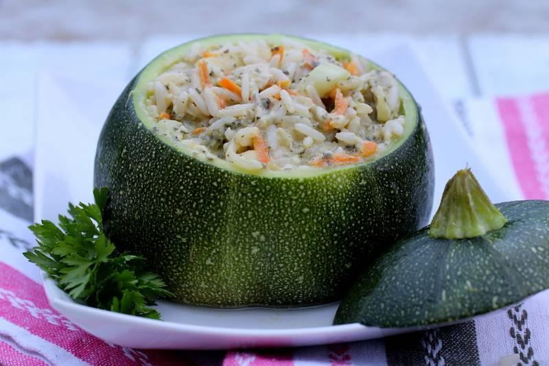 Блюдо из кабачков фото