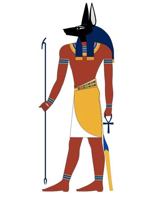Анубис - бог мертвых с головой шакала фото