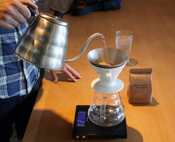 Как заварить кофе методом пуровер фото