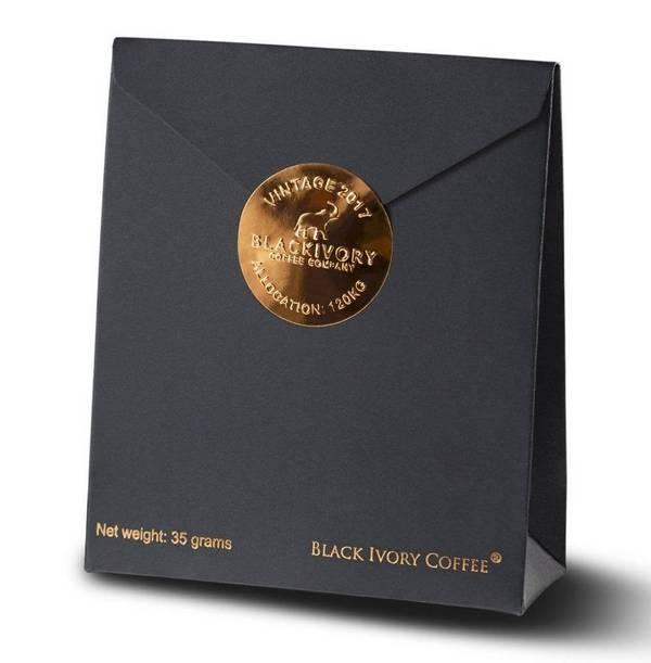 Кофе Черный бивень (Черная слоновая кость, Блэк Айвори) фото (Black ivory)