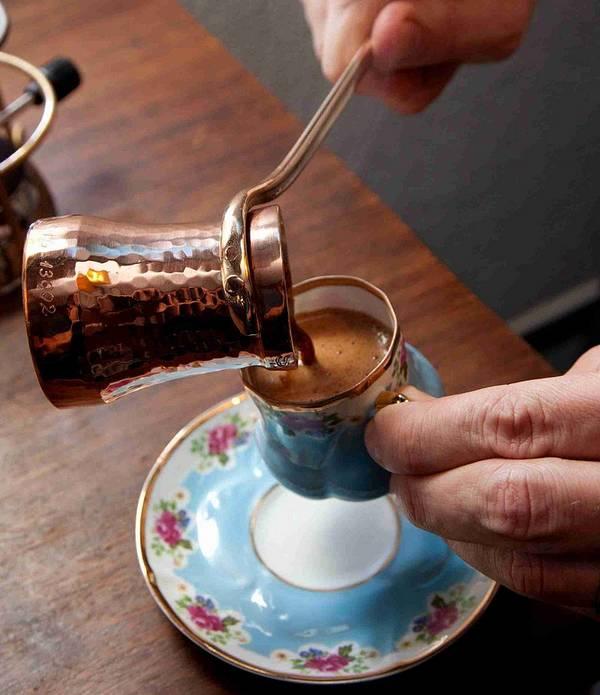 Кофе по-турецки (по-восточному) фото
