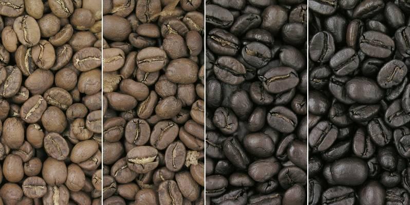 Степени обжарки кофе фото