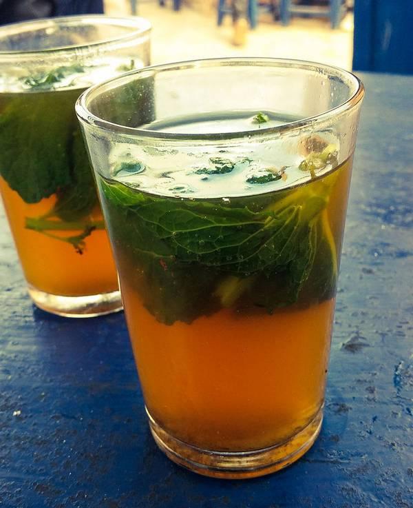 Чай с мятой фото (Mentha spicata)